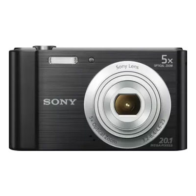 Sony DSC-W800 in5 Point & Shoot Camera (Black)