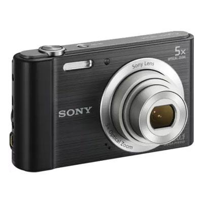 Sony DSC-W800 in5 Point & Shoot Camera (Black)