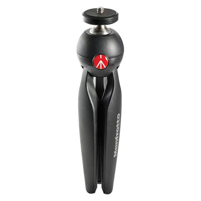 Manfrotto Pixi Tripod (Black, Supports Up to 2.5 g)