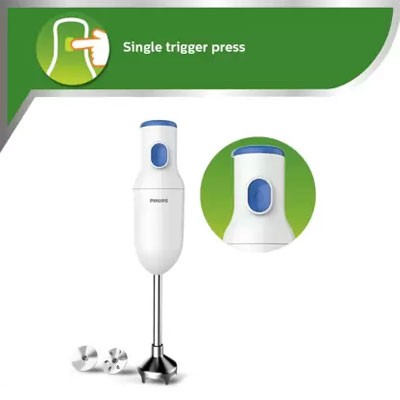 Philips HL1655/00 250 W Hand Blender (White)