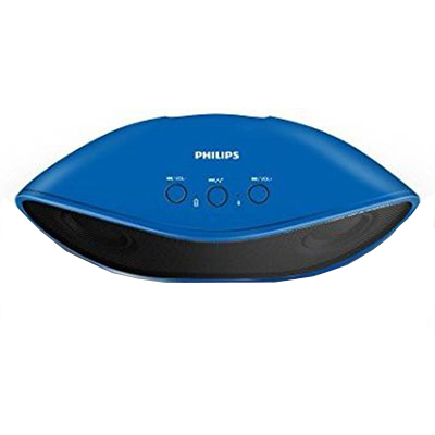 Philips IN-BT4200A94 8 W Bluetooth Speaker (Blue, Stereo Channel)