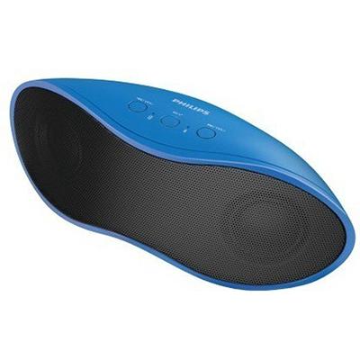 Philips IN-BT4200A94 8 W Bluetooth Speaker (Blue, Stereo Channel)