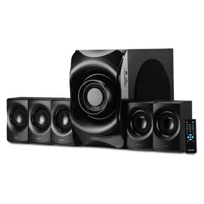 Philips SPA8000B/94 90 W Bluetooth Home Theatre (Black, 5.1 Channel)