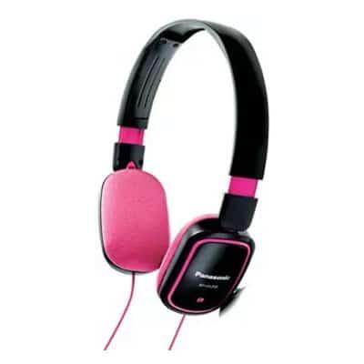 Panasonic Stereo Headphones RP-HX200-PK (Pink / Black)