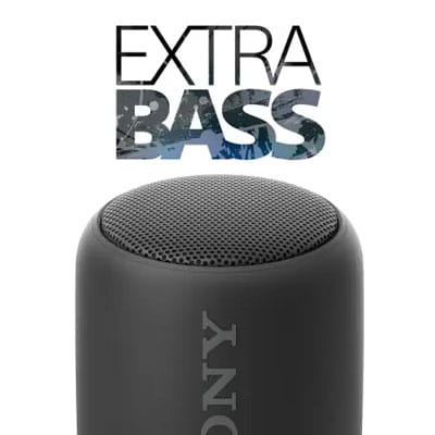 Sony Extra Bass SRS-XB10 - 10 W Portable Bluetooth Speaker (Black, Mono Channel)