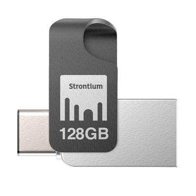 Strontium NITRO TYPE C 128GB Pen Drive