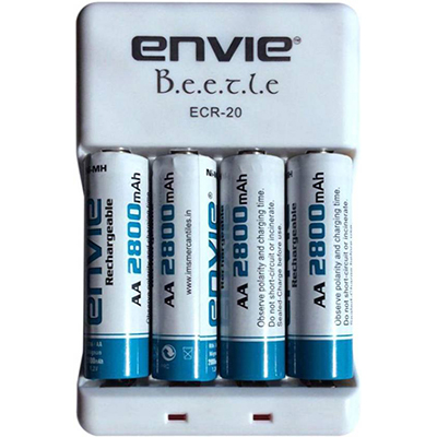 Envie 2800mah 4nos Battery Charger