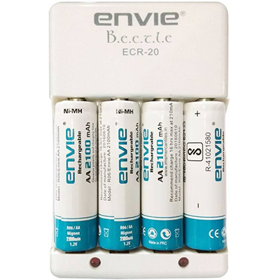 Envie 2100mah battery charger