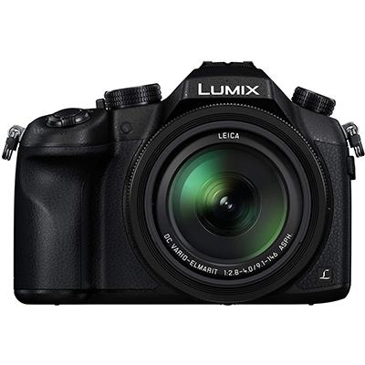 Panasonic FZ1000 DSLR Camera 4K Point and Shoot Camera, 16X, F2.8-4.0 Lens, 21.1 Megapixels, 1 Inch High Sensitivity Sensor (Black)