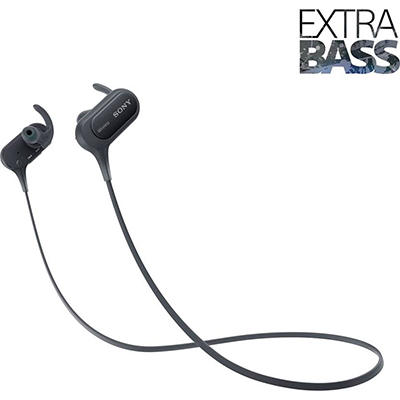 Sony XB50 Bluetooth Headphone (Black, In the Ear)