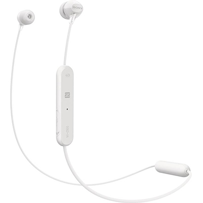 Sony C300 Bluetooth Headset with Mic (White, In the Ear)