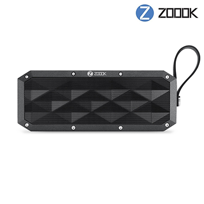 Zoook Rocker Armor XL Portable Bluetooth Speaker (Black, Mono Channel)