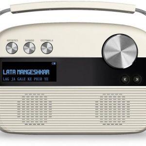 saregama carvaan porcelian white radio