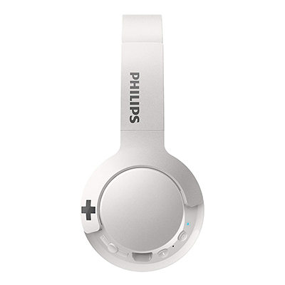 Philips SHB3075WT Wireless On-Ear Headphones with Mic-4