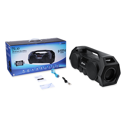 Zoook Rocker Boombox+ 32W Bluetooth Speakers (Black)