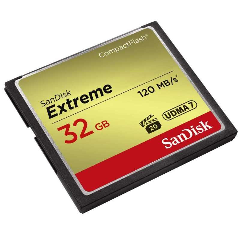 SanDisk Extreme 32GB CompactFlash 120MB