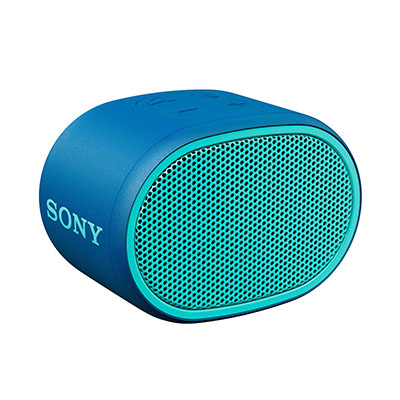 Sony SRS-XB01 Portable Bluetooth Speaker (Blue, Mono Channel)