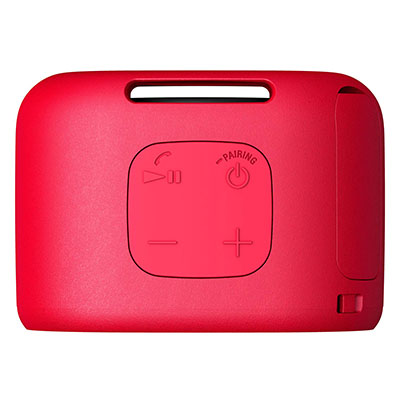 Sony SRS-XB01 Portable Bluetooth Speaker (Red, Mono Channel)
