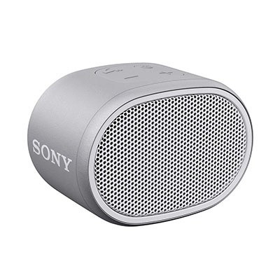 Sony SRS-XB01 Portable Bluetooth Speaker (White, Mono Channel)
