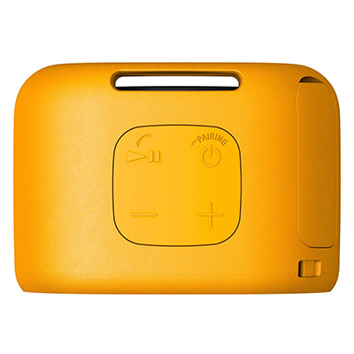 Sony SRS-XB01 Portable Bluetooth Speaker (Yellow, Mono Channel)