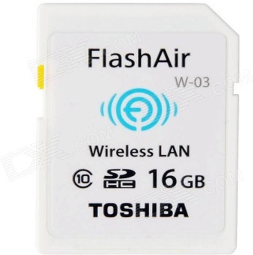 Toshiba 16GB FlashAir III Wireless Wifi SD card