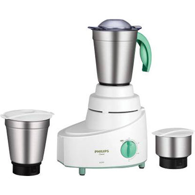 Philips HL1606-03 500 W Mixer Grinder (Green, 3 Jars)