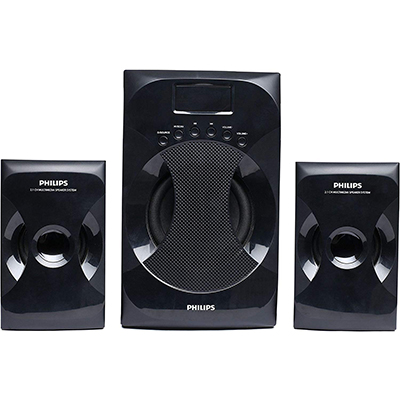 Philips Multimedia Speaker System Explode MMS4040F (Black, 2.1 Channel)