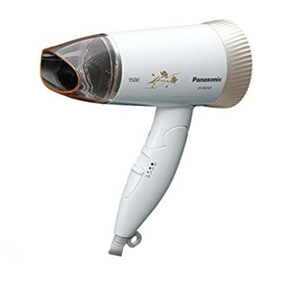 Panasonic EH-ND52-62B 1500-Watt Foldable Silent Hair Dryer