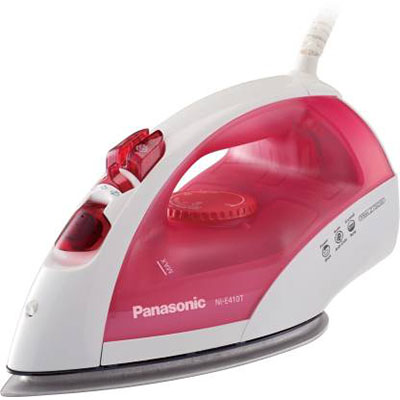 Panasonic NI-E410TRSM 1800 W Steam Iron (Red)
