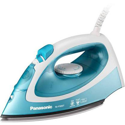 Panasonic NI-P300TASM 1780-Watt Steam Iron (Blue)