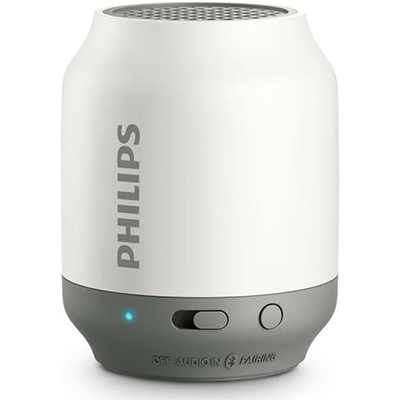 Philips BT50 white Speaker