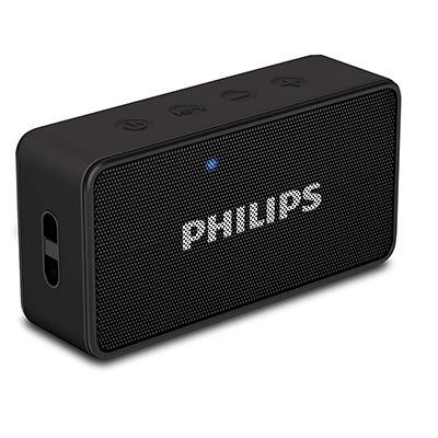 Philips BT64B-94 3 W Portable Bluetooth Speaker (Black, Mono Channel)
