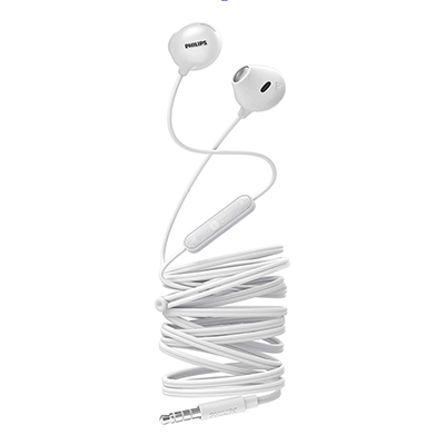 Philips SHE2305WT/00 Upbeat inear Earphone with Mic (White)