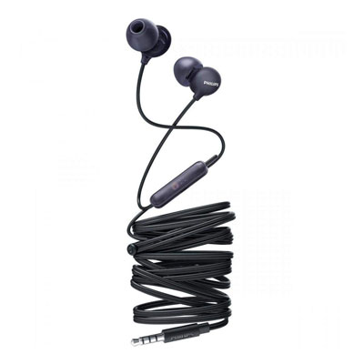 Philips SHE2405BK-00 Upbeat inear Earphone with Mic (Black)