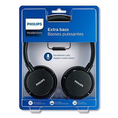 Philips SHL5005 with mic headphone-2