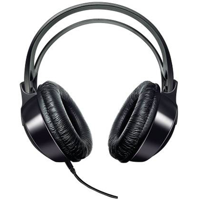 Philips SHP1900-97 Wired Headphone (Black, Over the Ear) (Open Box)-3
