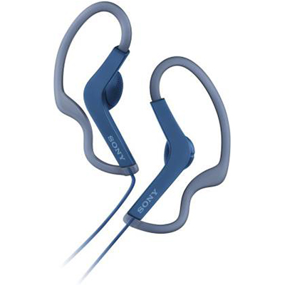 Sony MDR-AS210 Open-Ear Active Sports Headphones (Blue)