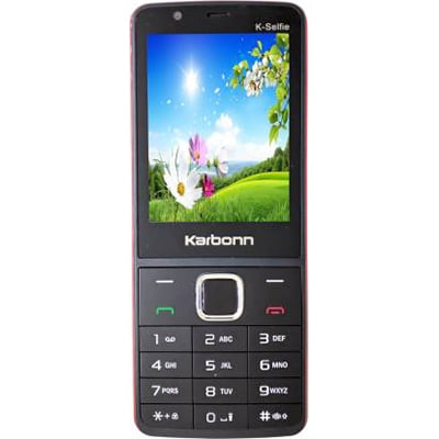 Karbonn K-Selfie (Black&Red)