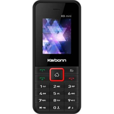 Karbonn K9 Mini (Black&Red)