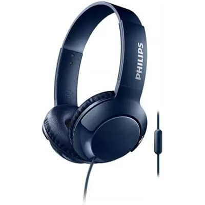 Philips SHL3075 Wired Headset Blue