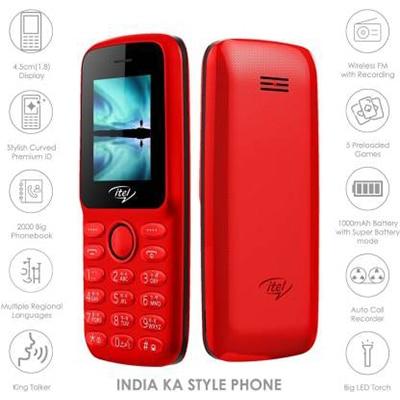 Itel IT 2163 (Red)-3