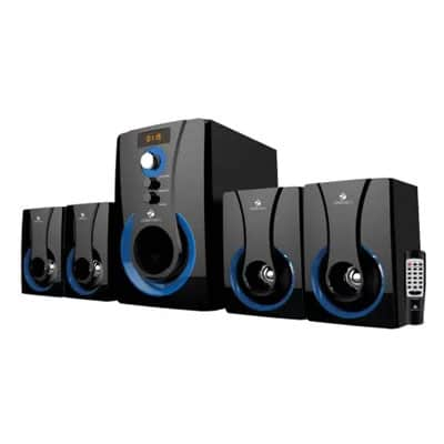 Zebronics BT3490RUCF 60 W Bluetooth Home Theatre (Black, 4.1 Channel)