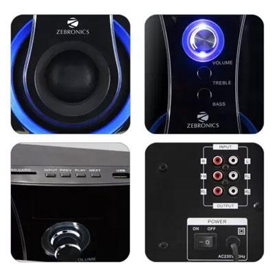 Zebronics BT3490RUCF 60 W Bluetooth Home Theatre (Black, 4.1 Channel)