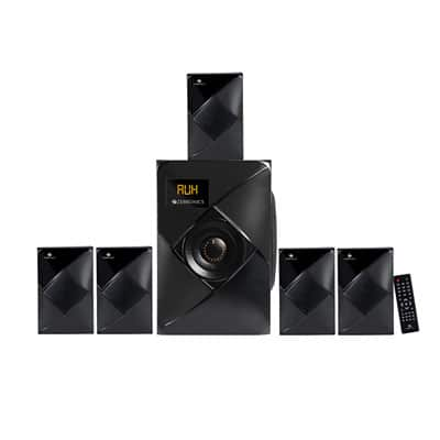 Zebronics BT6790RUCF 5.1 60W Bluetooth Home Theater (Black, 5.1 Channel)