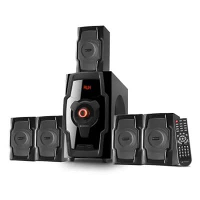 Zebronics ZEB BT8490RUCF 80 W Bluetooth Home Theatre (Black, 5.1 Channel)