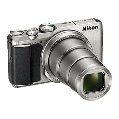 Nikon COOLPIX A900 (20 MP, 35x Optical Zoom, 4x Digital Zoom, Silver)