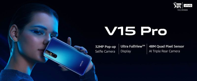 Vivo V15 Pro (Topaz Blue, 128 GB) (6 GB RAM)