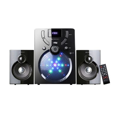 Zebronics ZEB-UDAAN 2 BTRUF 40 W Bluetooth Home Theatre (Black, 2.1 Channel)