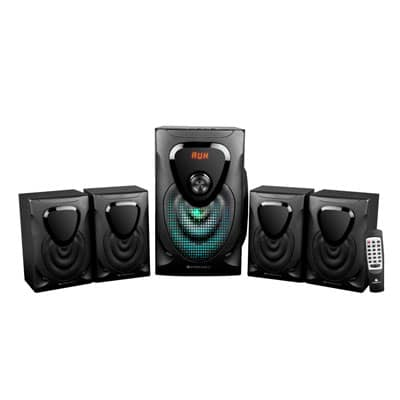 Zebronics OPERA 60W Bluetooth Home Theater (Black, 4.1 Channel)