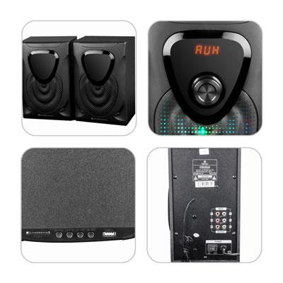 Zebronics OPERA 60W Bluetooth Home Theater (Black, 4.1 Channel)